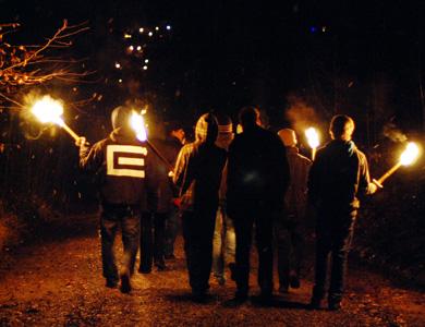 12.12.09 - Künzelsauer Waldweihnacht
