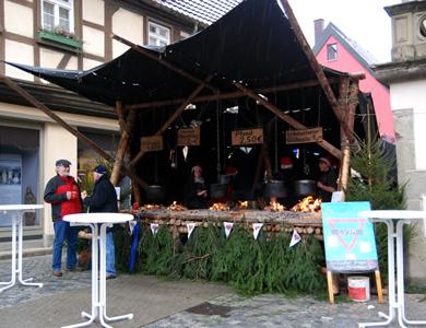 02.-04.12.11 - CVJM-Weihnachtsmarktstand